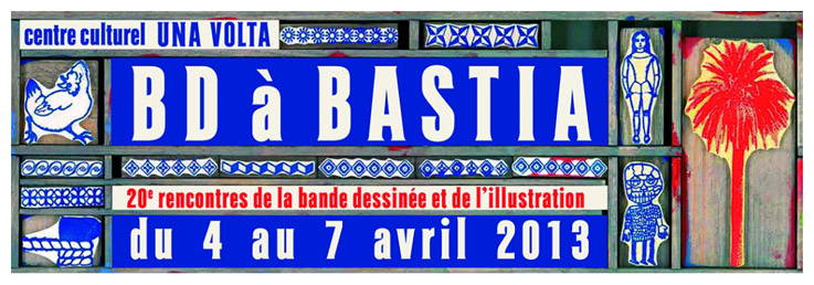 Bd à Bastia / Le Tampographe Sardon