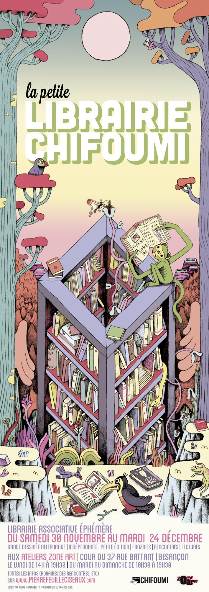 Petite Librairie Ephémère - © Pierre Ferrero