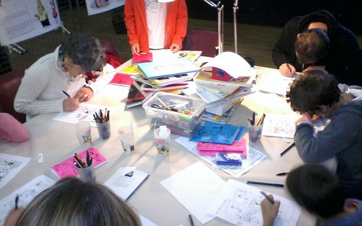 RDV du Livre 2016 - atelier fanzine Fête du Livre