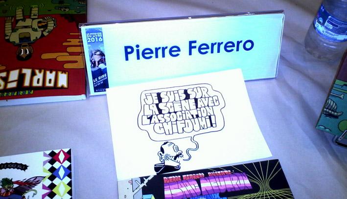RDV du Livre 2016 - Pierre Ferrero ChiFouMi