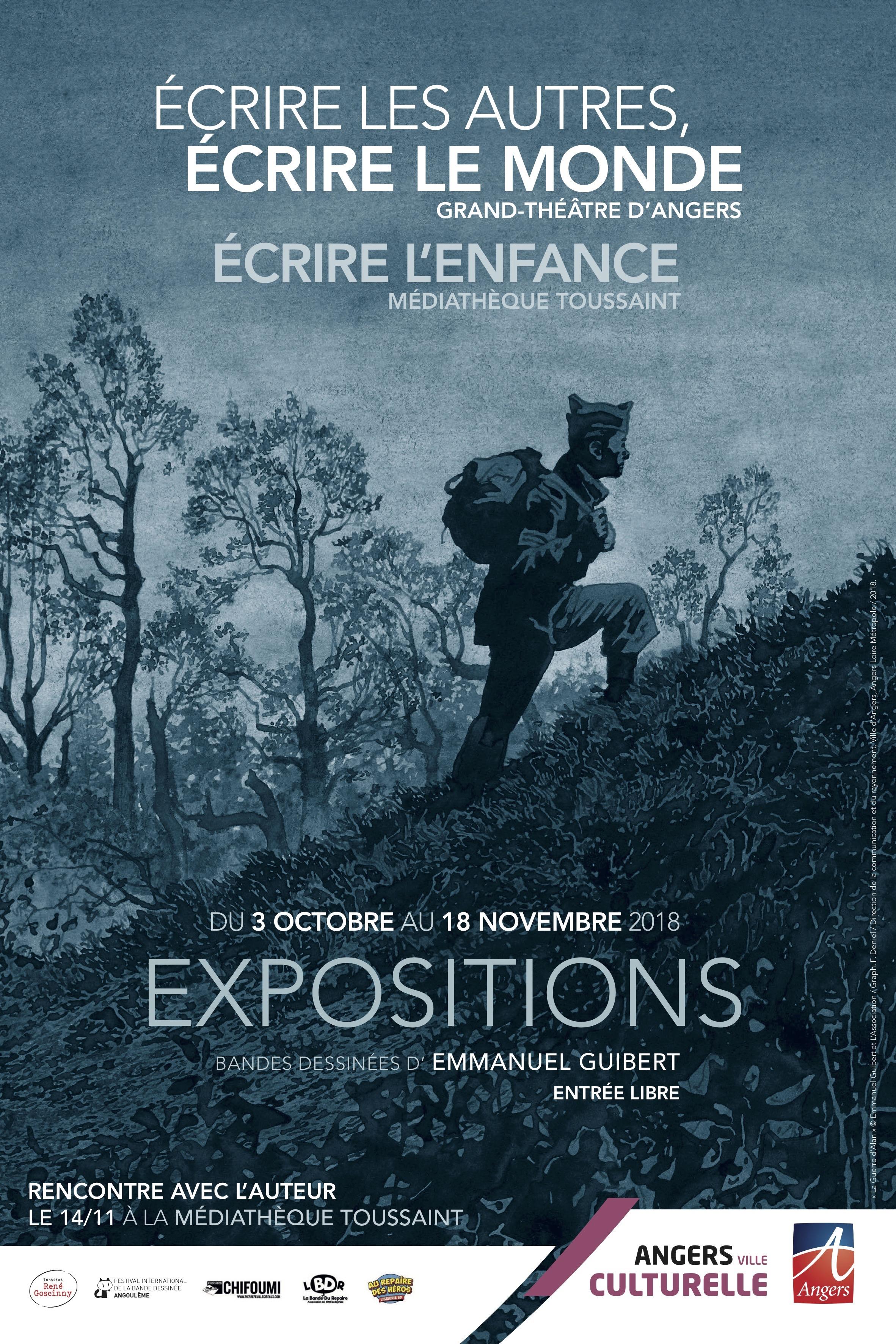 Expo Guibert Angers - visuel