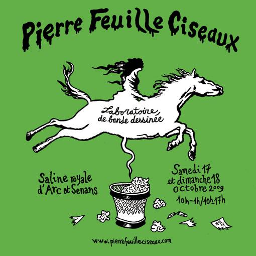 (Pierre Feuille Ciseaux, le visuel signé Baladi)