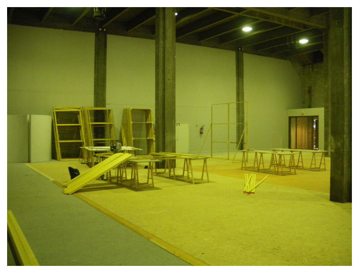 Construction, fin du jour 3.