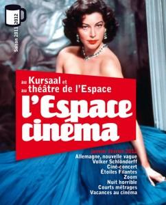 L'Espace Cinéma - Kursaal/Théâtre de l' Espace - couv