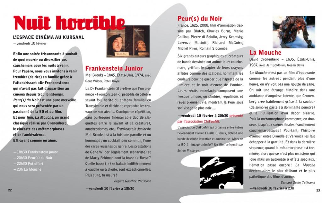 L'Espace Cinéma - Kursaal/Théâtre de l' Espace - pages