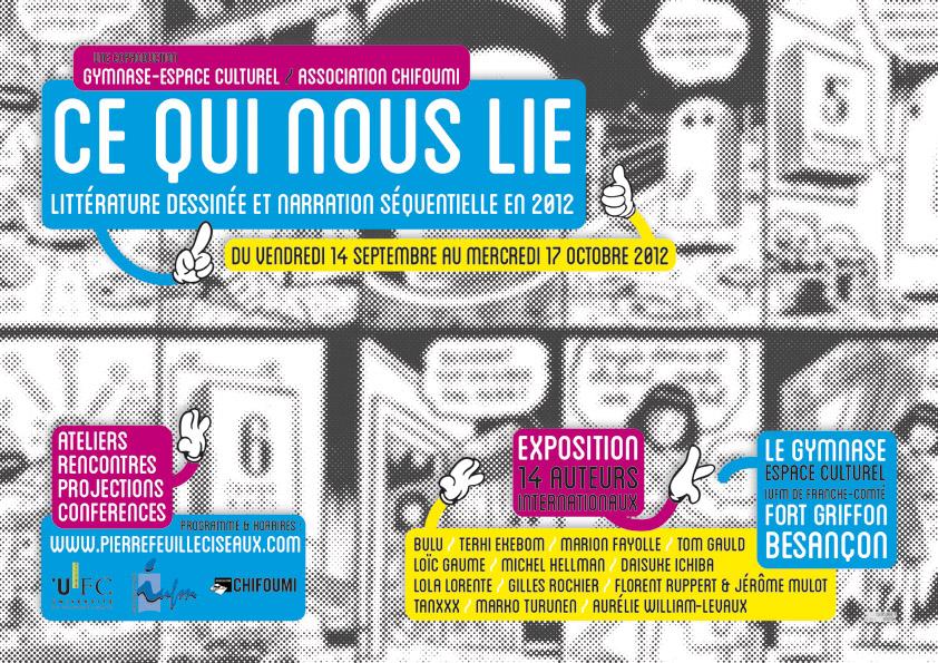 Ce Qui Nous Lie - affiche web finale (dessin: Lucas Varela - graphotism: RTRMNK)