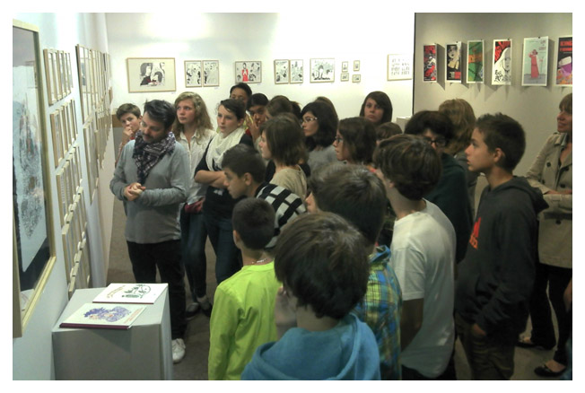 Gilles Rochier - rencontre pédagogique
