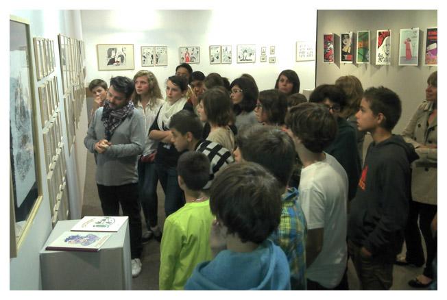 Gilles Rochier visite