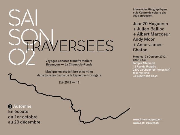 Intermèdes Géographiques automne 2012