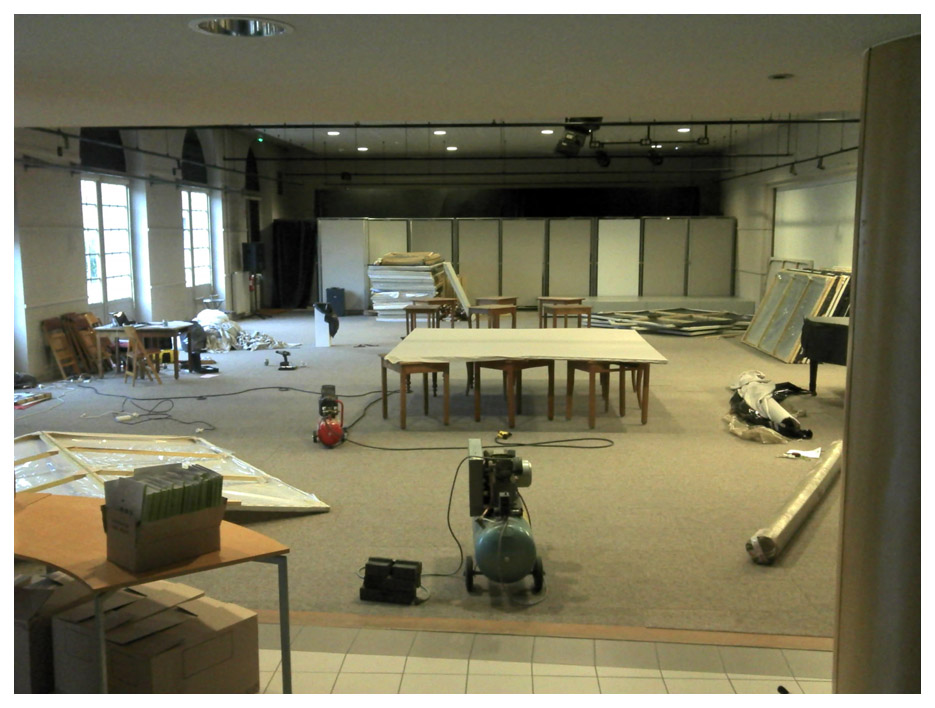 La galerie du Gymnase, avant la transformation...
