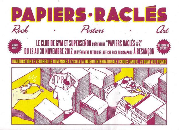 Papiers Râclés 2012