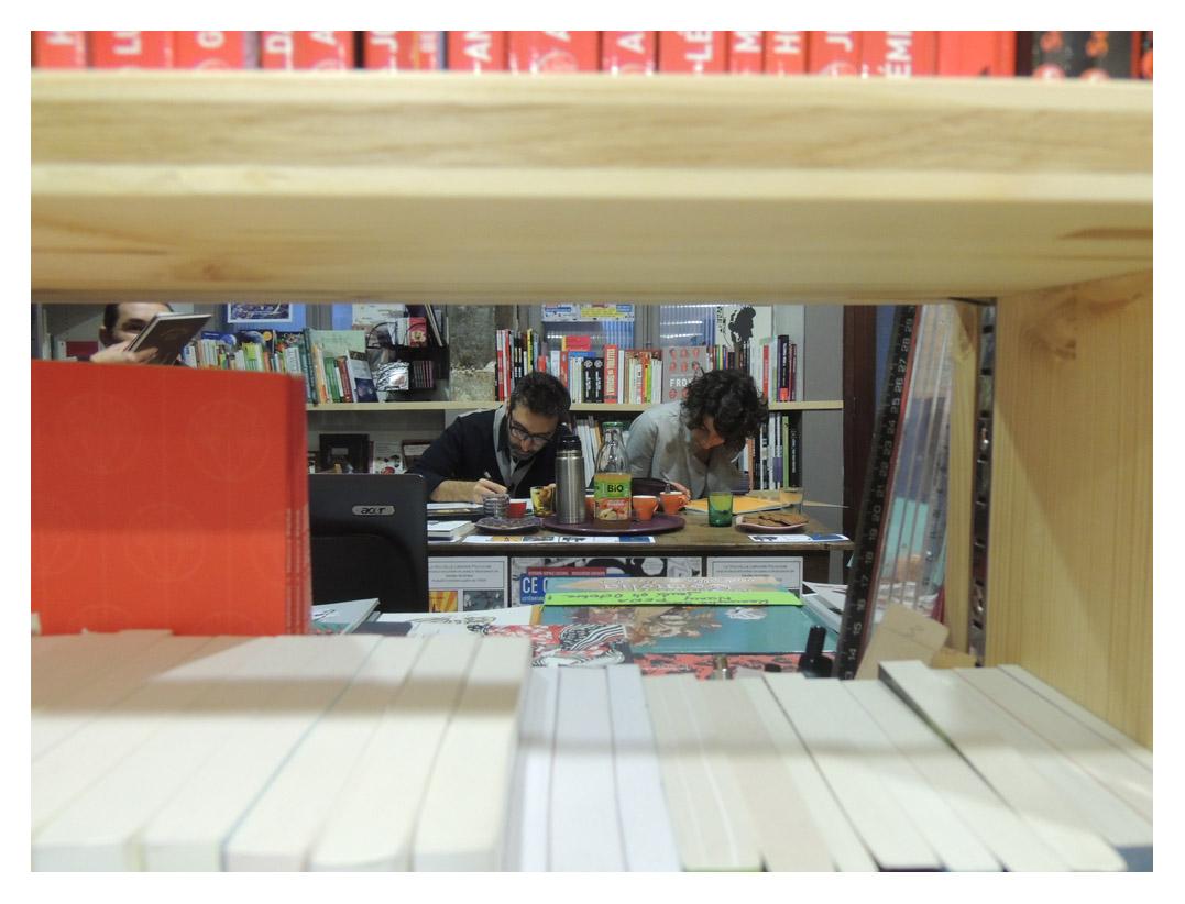 CQNL Nancy Pena et Lucas Varela / Nouvelle Librairie Polinoise 1
