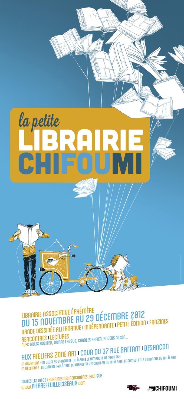 La Petite Librairie Ephémère - affichette