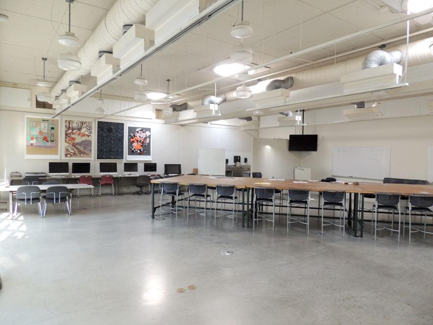 Salle #430 - MCAD Minneapolis - Le calme avant la tempête...
