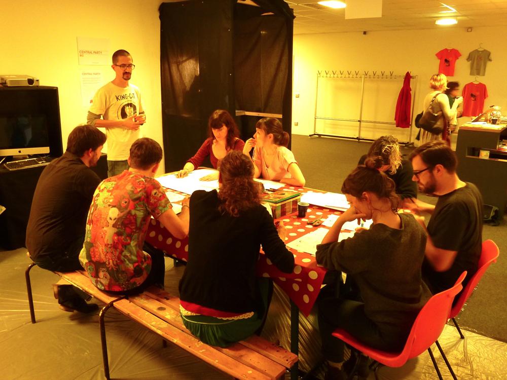 P102Central Vapeur / ChiFouMi fanzine participants taf