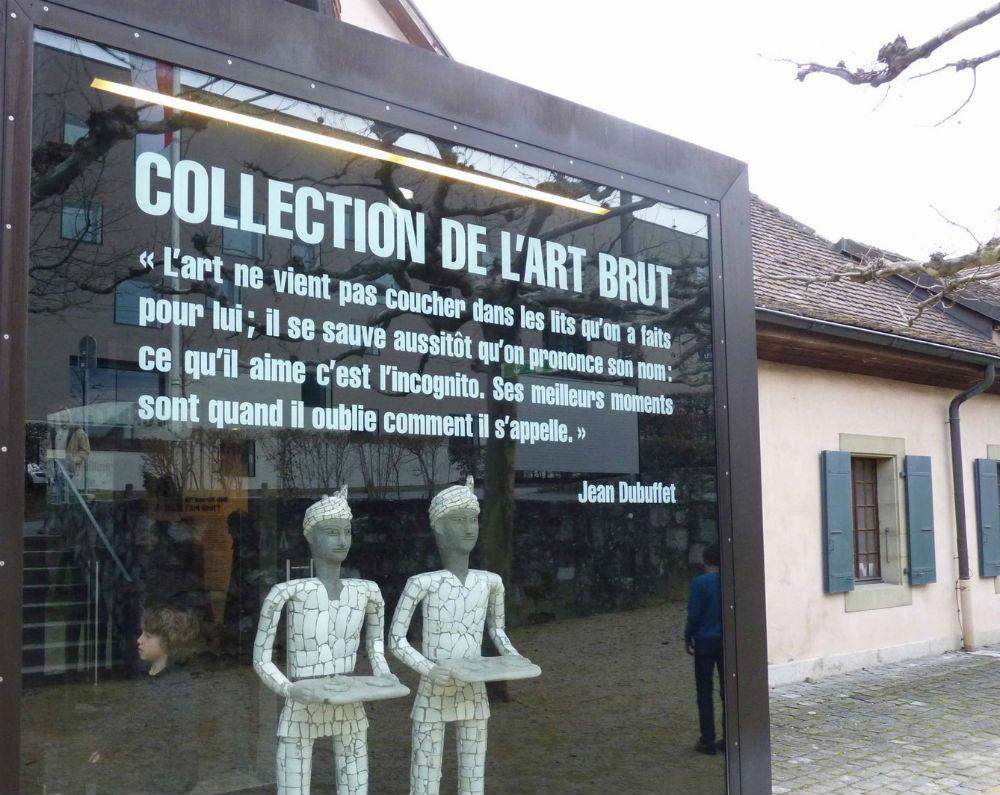 Artistes Plasticiens au lycée 2015 - Art Brut Lausanne logo front