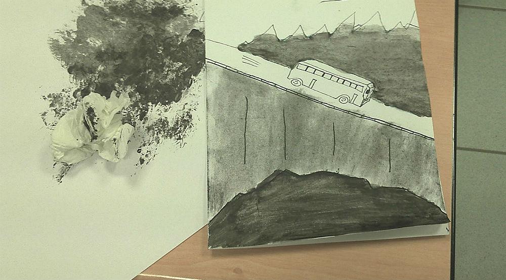 Artistes Plasticiens au lycée 2015 - ça démarre...