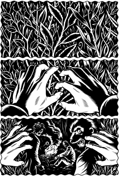 Charles Burns – exemple 9