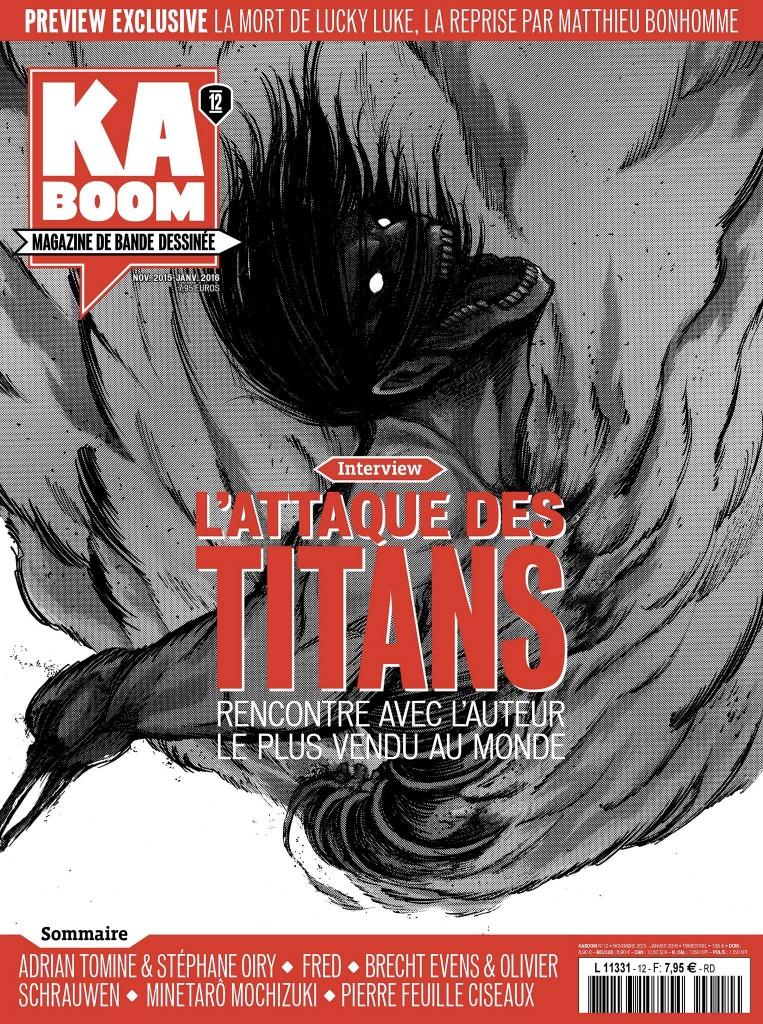 PFC dans Kaboom #12 - couverture