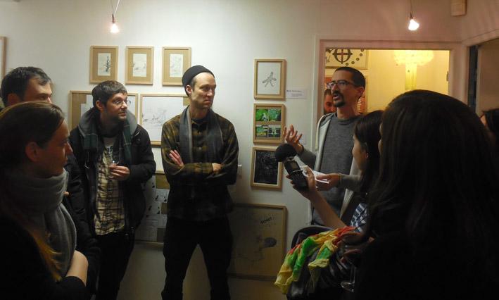 La Chèvre Sans Visage - rencontre avec Anders Nilsen et Marc Bell - Zone Art