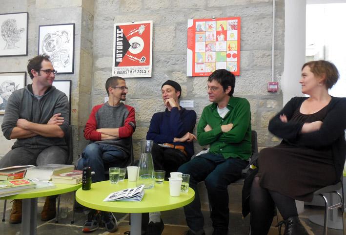 La Chèvre Sans Visage - rencontre avec Anders Nilsen et Marc Bell - Médiathèque B