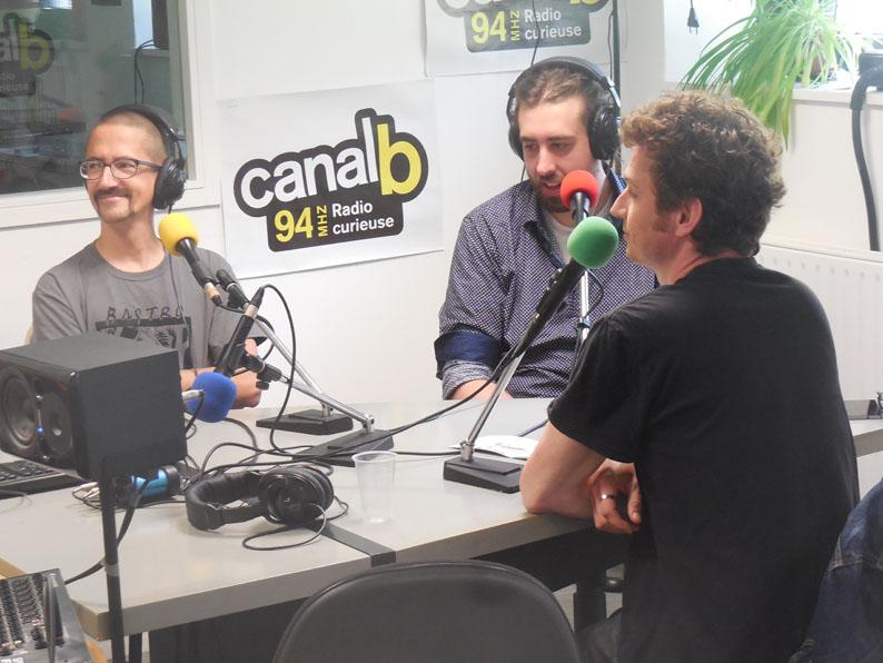 Spéléographie 2016: premier des nombreux entretiens radio avec CanalB