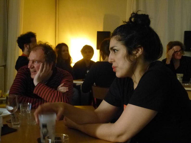 Spéléographies 2016: JC Menu et Laetitia Shériff à la même table: friction pluridisciplinaire droit devant!