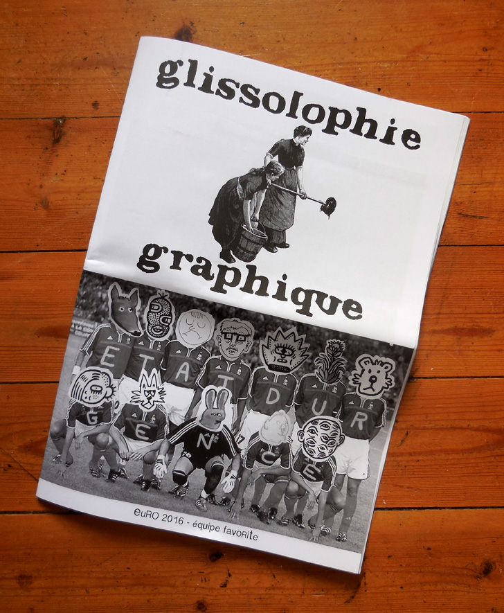 Spéléographies 2016: la couverture de la revue issue du Labo, coordonné par Sébastien Lumineau.
