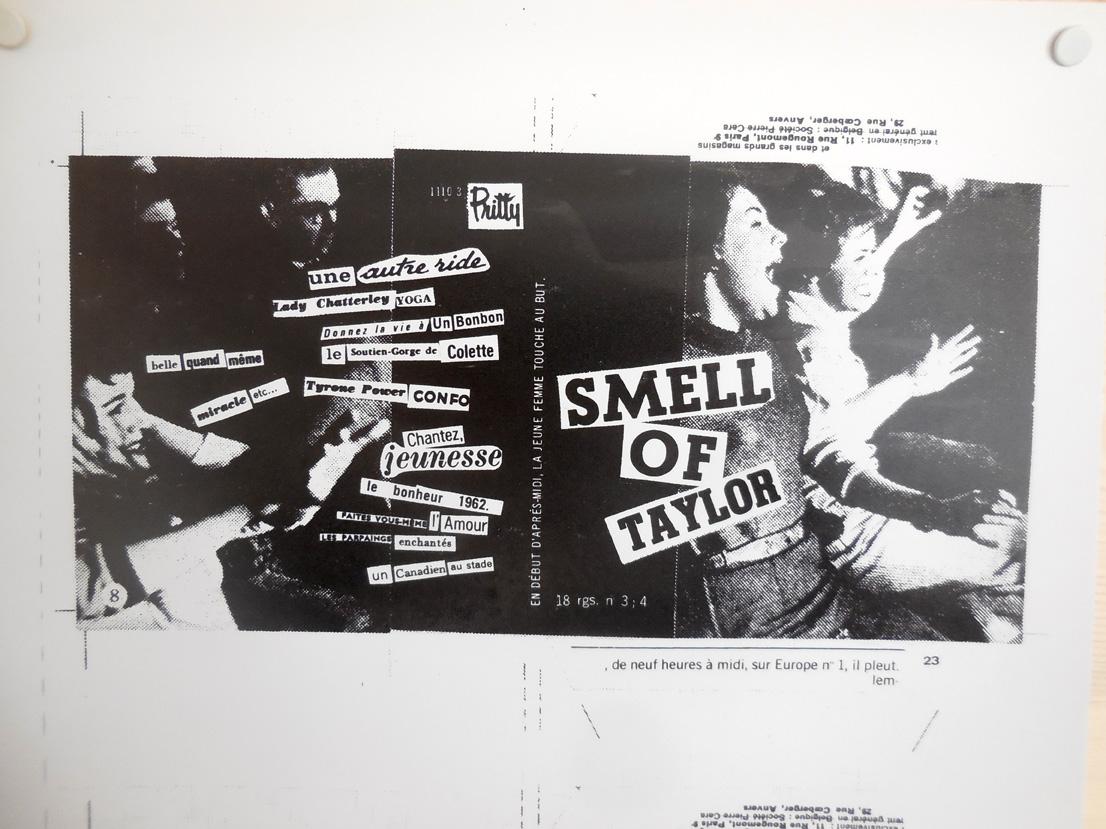Spéléographies 2016: la pochette du CD de Smell Of Taylor, groupe créé la veille.