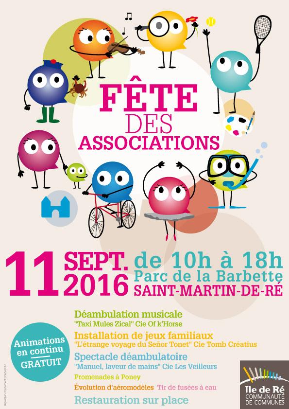 Fête des associations 2016 - communauté de communes Ile de Ré