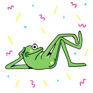 Pierre Ferrero - grenouille