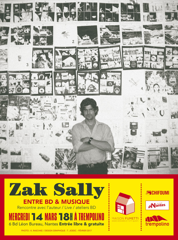 Zak Sally Trempolino 2017