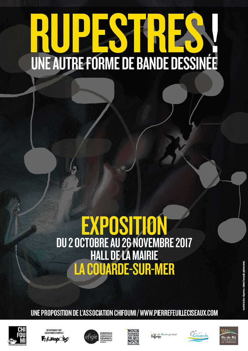 Rupestres ! exposition - La Couarde 2017