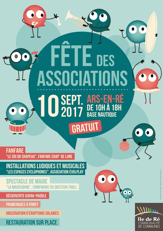 Fête des Associations de l'Île de Ré 2017 - visuel