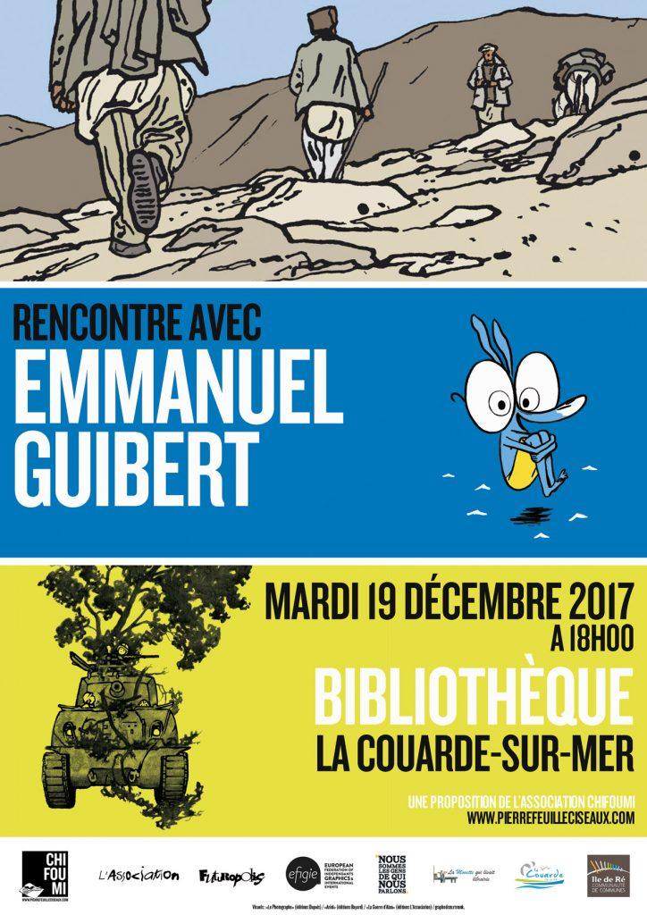 Emmanuel Guibert - rencontre décembre La Couarde