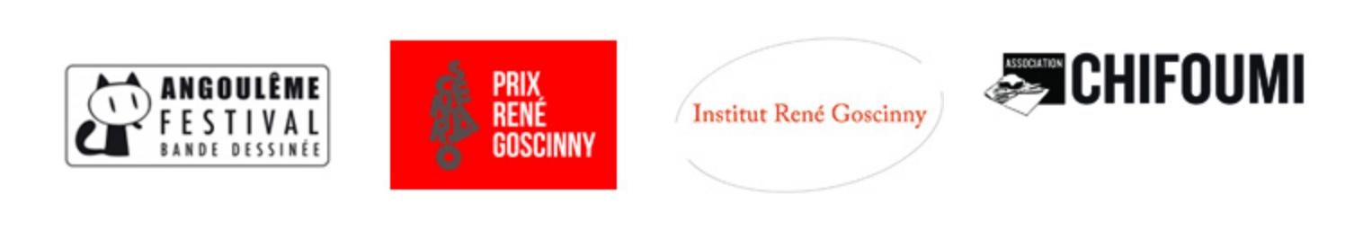 logos partenaires expo Guibert FIBD 2018
