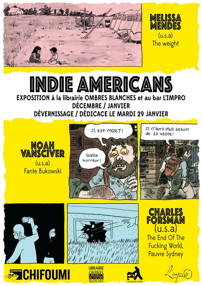 Indie Americans a Toulouse - 2018-2019