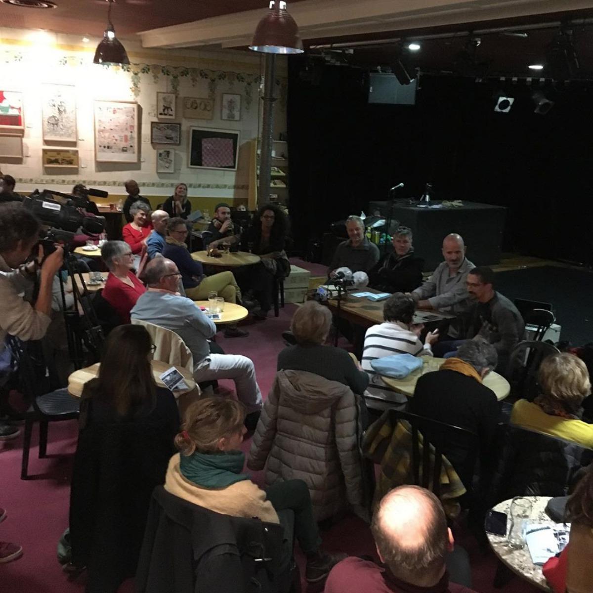 Renontre avec Davodeau, Joub, Hermenier 2019 - La Fraternelle 2019