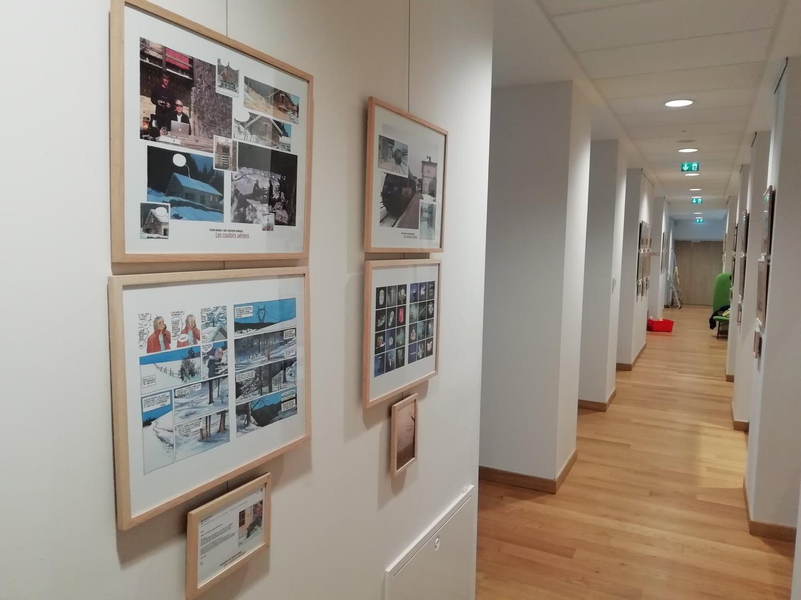 Expo Couloirs aériens 1 - Davodeau, Joub, Hermenier 2019