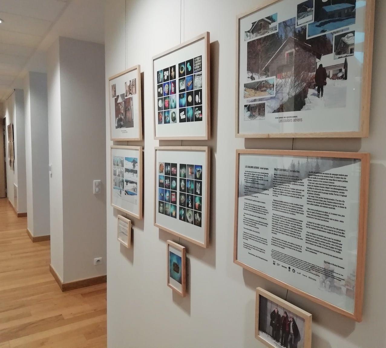 Expo Couloirs aériens 2 - Davodeau, Joub, Hermenier 2019