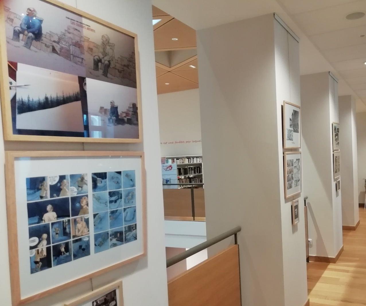 Expo Couloirs aériens 3 - Davodeau, Joub, Hermenier 2019