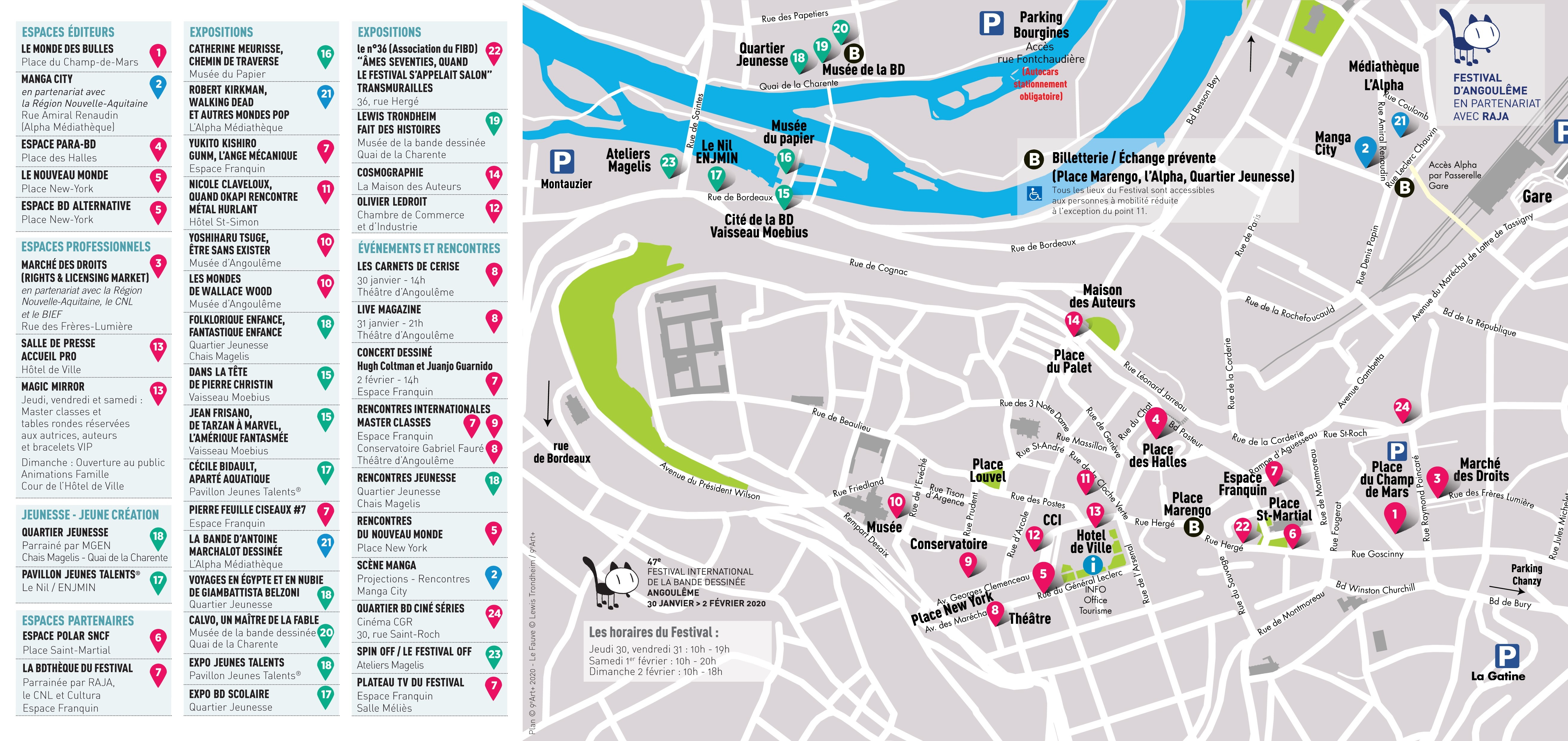 Plan FIBD Angoulême 2020