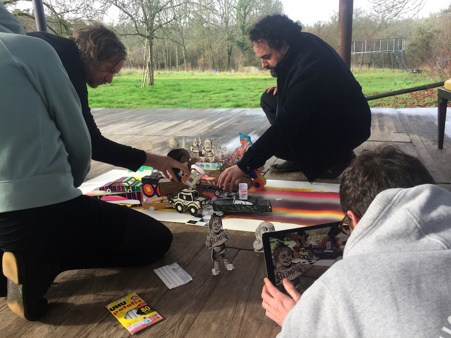PFC#7 Dignac YoLo 2.0, un chantier de dernière minute (en stop-motion) : Alex Baladi, Matthias Lehmann…